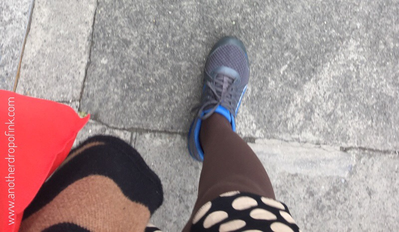 Yesterday's sensible walking shoes